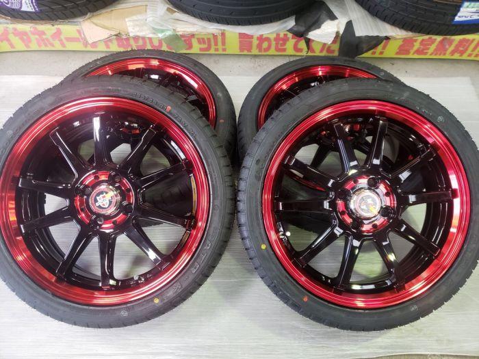 EXPLODE RBS 16インチ 軽用 タイヤセット