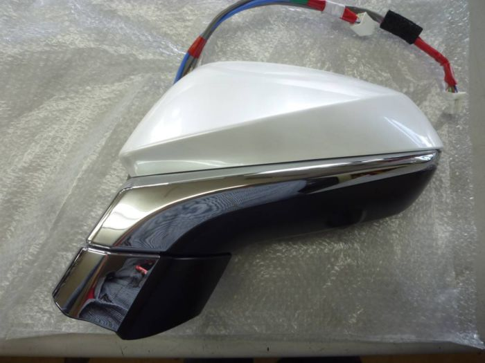LEXUS レクサス 20系 RX 純正 ミラー 左 パールホワイト 中古 034168