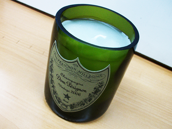 ドンペリ ヴィンテージキャンドル シャンパンインスタ映え バレンタイン 記念日 お祝い パーティー Dom Perignon