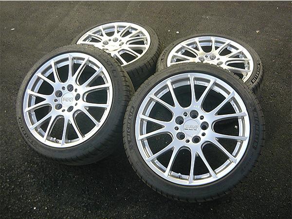 BBS RE-V RE062 鍛造ホイール 225/40R18 4本セット 57.1φハブリング付 Audi アウディ