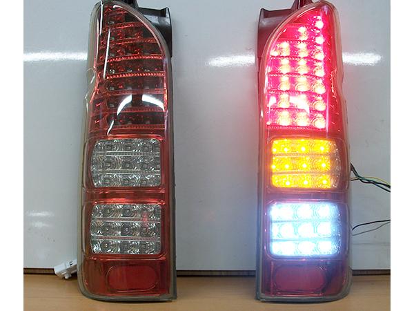 200系 ハイエース レジアスエース 1型 2型 3型 4型 社外 フルLED テールランプ テールレンズ 左右セット