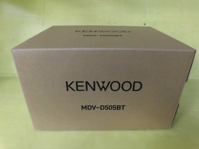kENWOOD    MDV-D505BT      未使用品 SDナビ