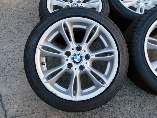 BMW Z4 R85 純正 17インチ 225/45R17 15年製 深溝タイヤ付