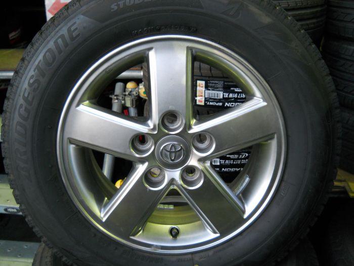 中古スタッドレスタイヤ ブリヂストン VRX2 195/65R15 ホイールセット