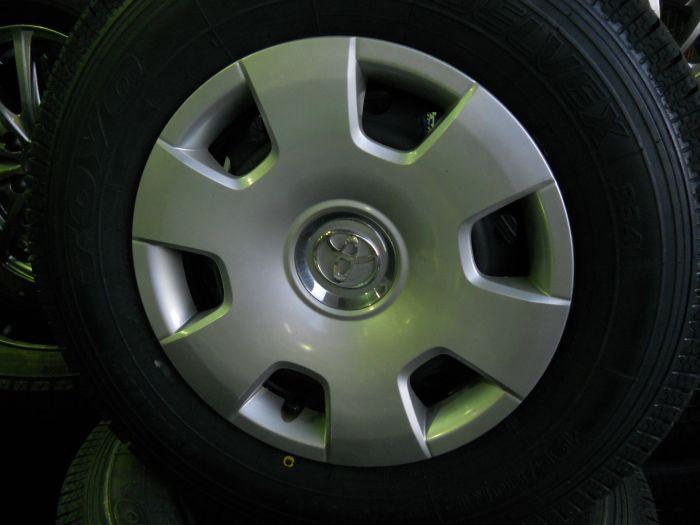 新品スタッドレスタイヤ TOYO バン用 195/80R15 107 LT 中古ホイールセット