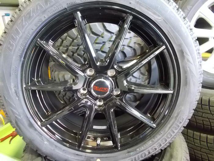 新品スタッドレス+新品ホイール ブリヂストン VRX 215/50R17 DILETTO S52 17インチアルミセット