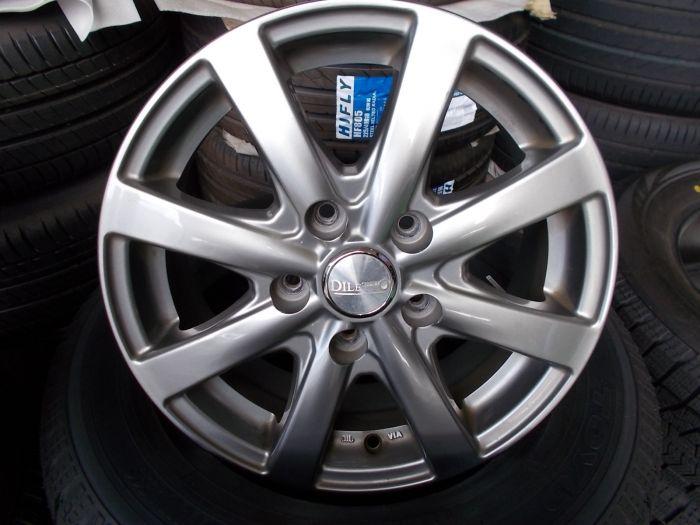 新品スタッドレス+中古ホイール トーヨーガリットG5 195/65R15 DELITTO 15インチアルミセット