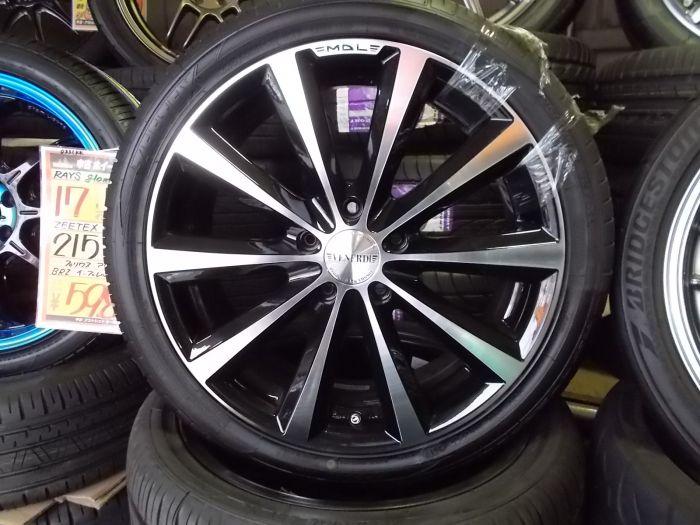 新品タイヤホイールセット VENERDi MADELENA 18×7+50  ZEETEX HP2000 225/40R18