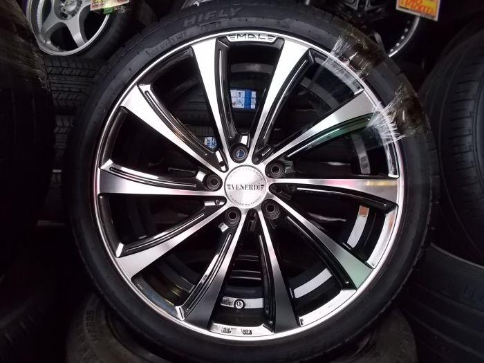 新品タイヤホイールセット VENERDi GIRARE 18×7.5+48 HIFLY HF805 225/40R18
