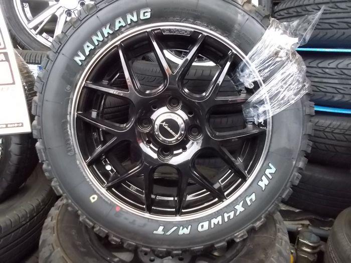 新品タイヤホイールセット XSPEED 14×4.5+46 ナンカン 4×4WD M/T