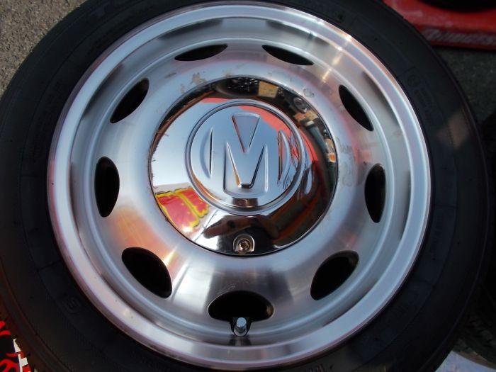 【中古ホイール+新品タイヤ】クリムソン ミケロッティ 14インチ トーヨー SD-K7 155/65R14 4本セット
