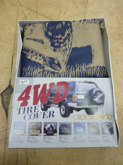 TOMBOY 4WD専用 リア スペアタイヤカバー L 235/75-15~275/75-16 中古