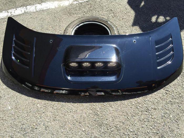 三菱 デリカD:5 エルフォード 4連フォグランプエアロボンネット
