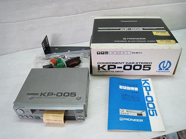 PIONEER パイオニア KP-005 カセットデッキ ロンサム カーボーイ 旧車 当時物 ジャンク品扱い