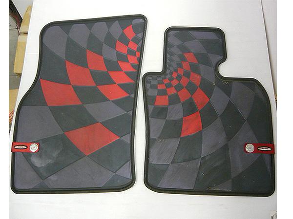 中古 買取品 BMW MINI ミニ ジョンクーパーワークス JCW Pro フロント フロアマット 右ハンドル用 左右セット F56 F55 F57 ONE COOPER