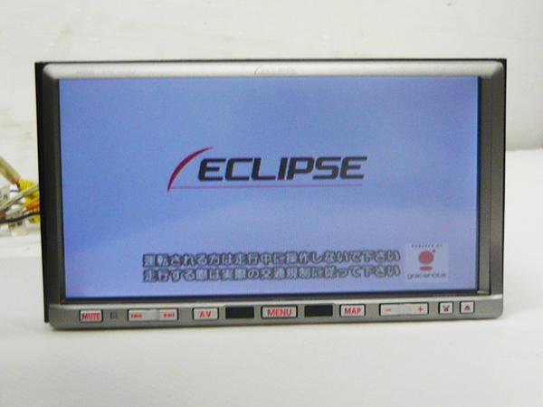 ECLIPSE イクリプス HDDナビ AVN669HD カーナビ HDD/DVD/地デジ/フルセグ/Bluetooth MP3 WMA MUSICJUKE USB iPod