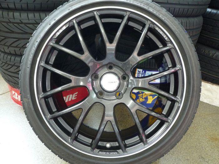 東郷店 RAYS HOMURA 2×8 GTS 19インチアルミ+タイヤセット