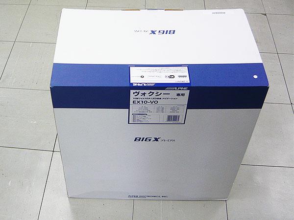 ALPINE 80ヴォクシー専用 ナビ EX10-VO
