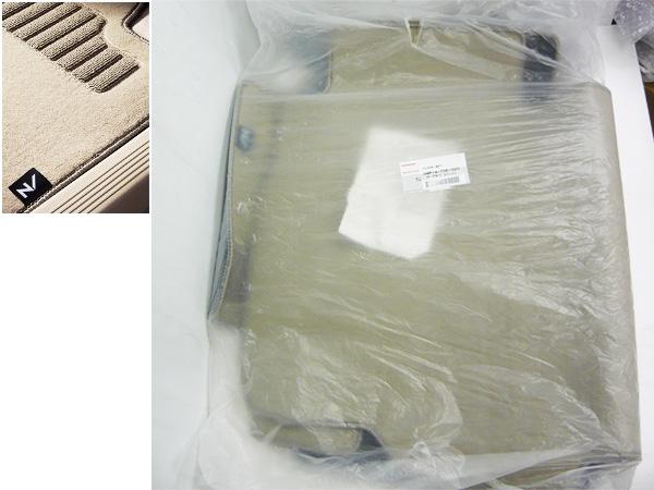 未使用 N-BOX SLASH Nボックススラッシュ ホンダ純正 フロアマット ダークベージュ JF1/JF2 08P14-TDE-020