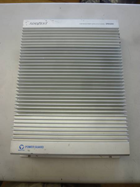 ADDZEST アゼスト パワーアンプ APA4200 4ch 中古